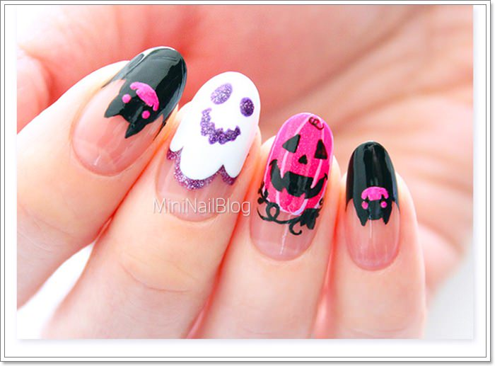 1582543785 716 105 Glitzy Halloween Nails to Rock Your Party Looks