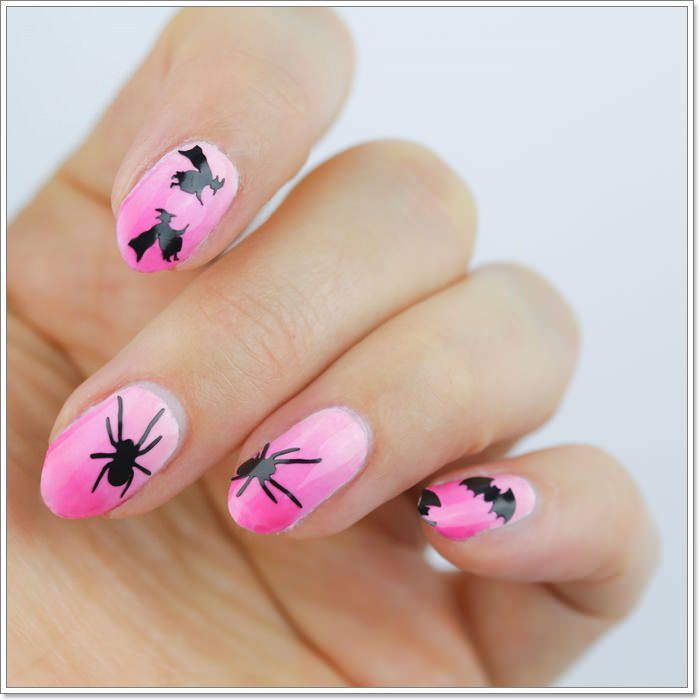 1582543785 881 105 Glitzy Halloween Nails to Rock Your Party Looks
