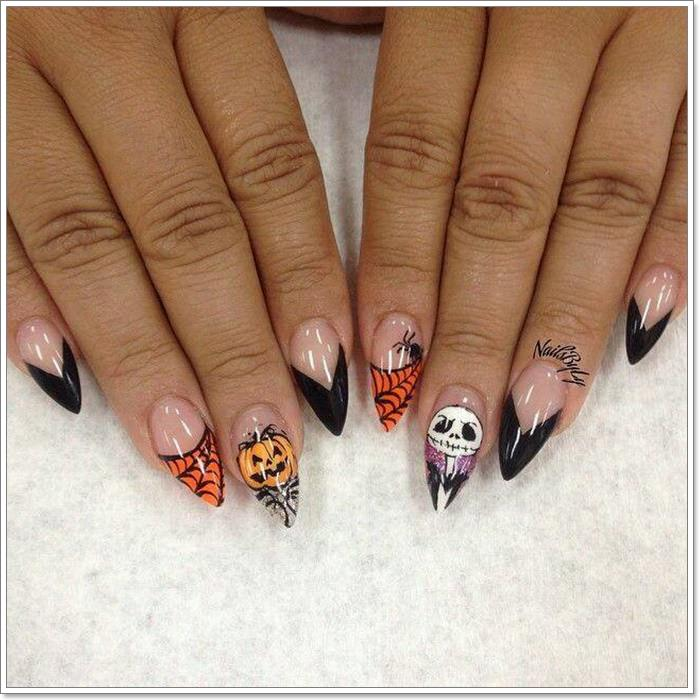 1582543786 226 105 Glitzy Halloween Nails to Rock Your Party Looks
