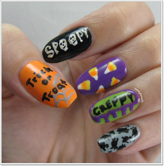 1582543786 489 105 Glitzy Halloween Nails to Rock Your Party Looks
