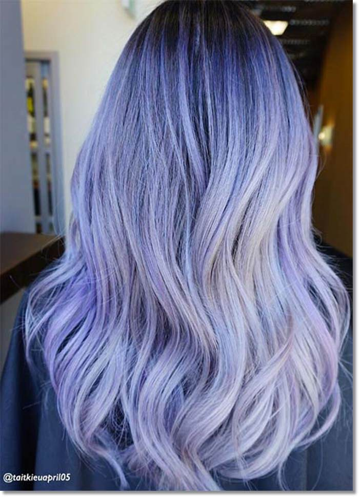 1582543965 101 80 Lavender Hair Your Inner Goddess Will Absolutely Love