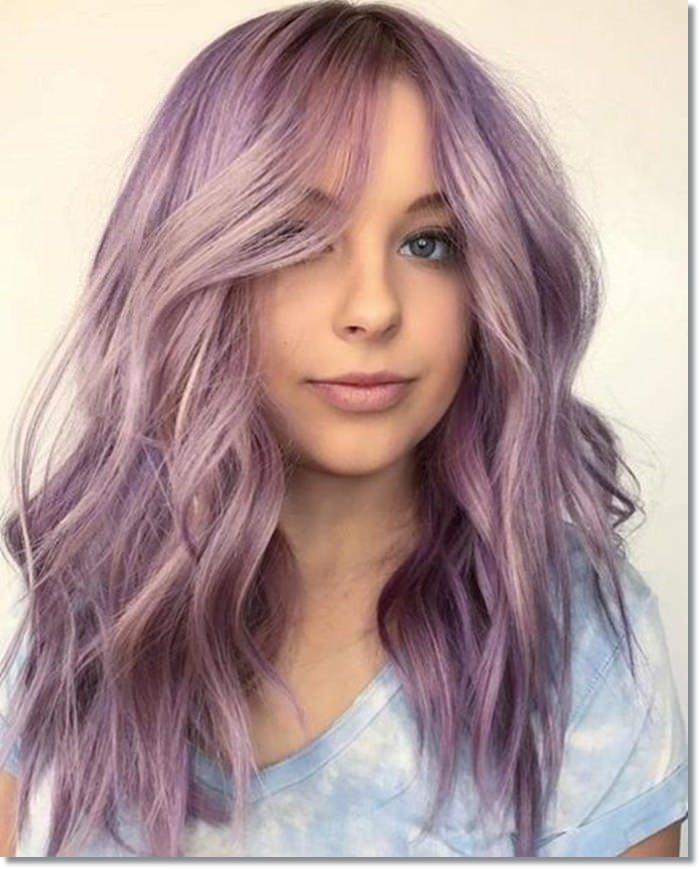 1582543967 515 80 Lavender Hair Your Inner Goddess Will Absolutely Love
