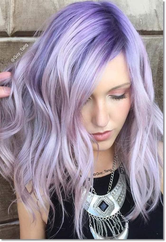 1582543967 743 80 Lavender Hair Your Inner Goddess Will Absolutely Love