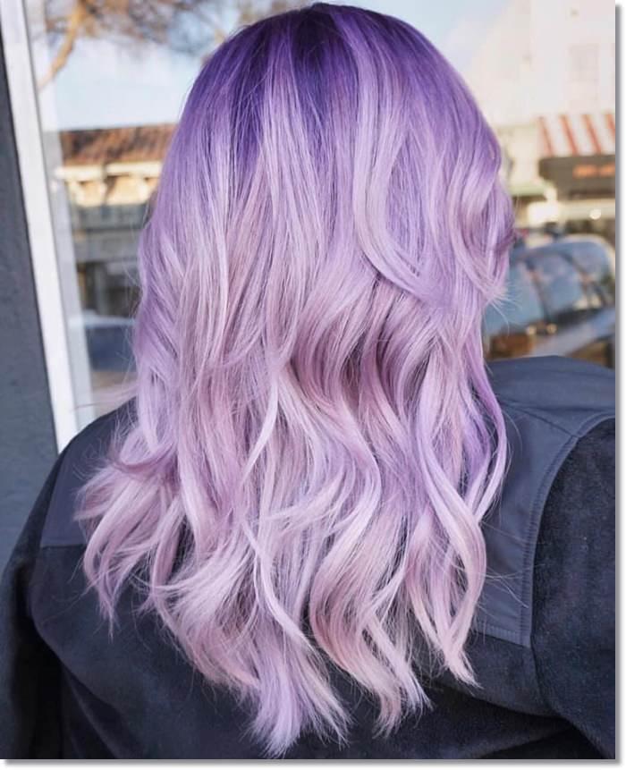 1582543968 639 80 Lavender Hair Your Inner Goddess Will Absolutely Love