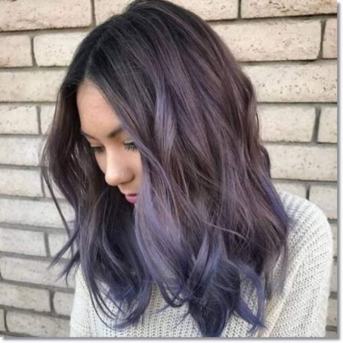 1582543969 450 80 Lavender Hair Your Inner Goddess Will Absolutely Love