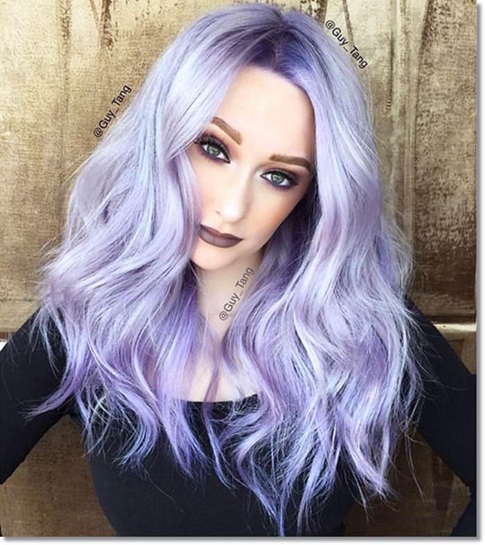 1582543969 79 80 Lavender Hair Your Inner Goddess Will Absolutely Love