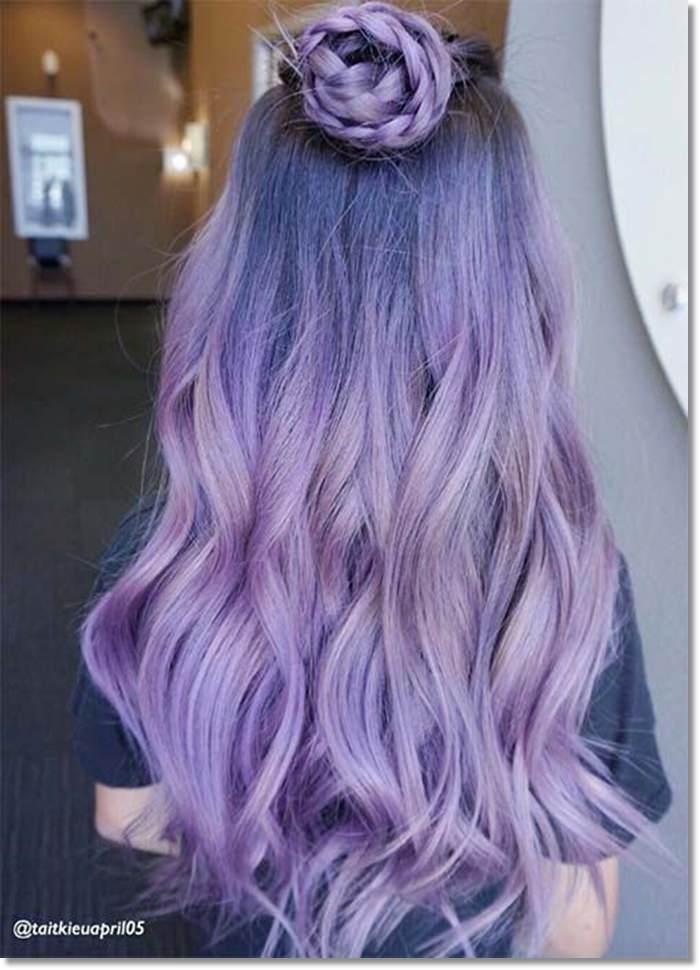 1582543970 778 80 Lavender Hair Your Inner Goddess Will Absolutely Love