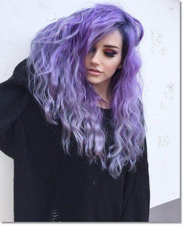 1582543970 987 80 Lavender Hair Your Inner Goddess Will Absolutely Love