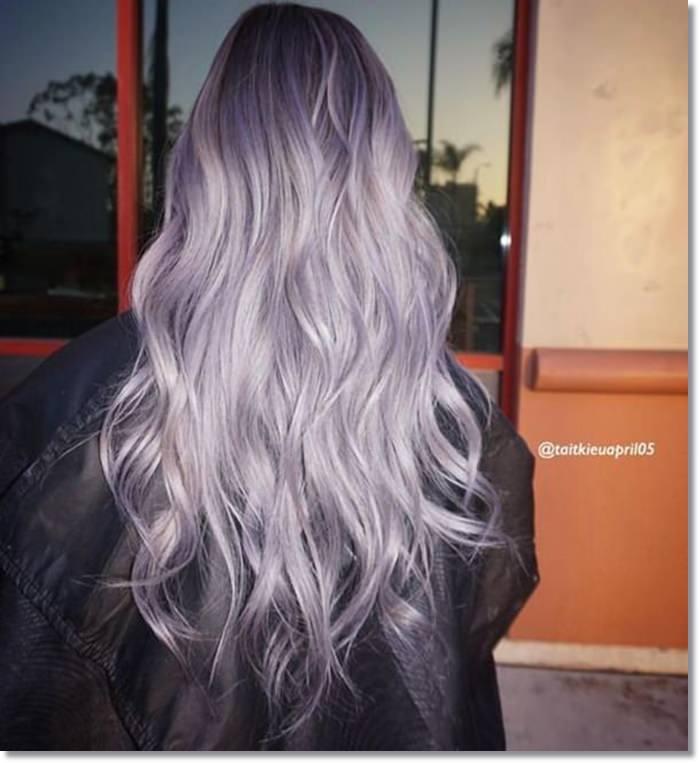 1582543972 318 80 Lavender Hair Your Inner Goddess Will Absolutely Love