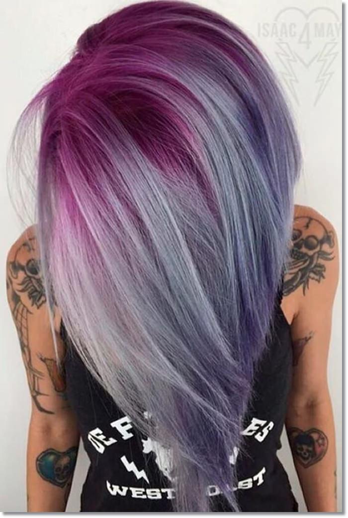1582543972 336 80 Lavender Hair Your Inner Goddess Will Absolutely Love