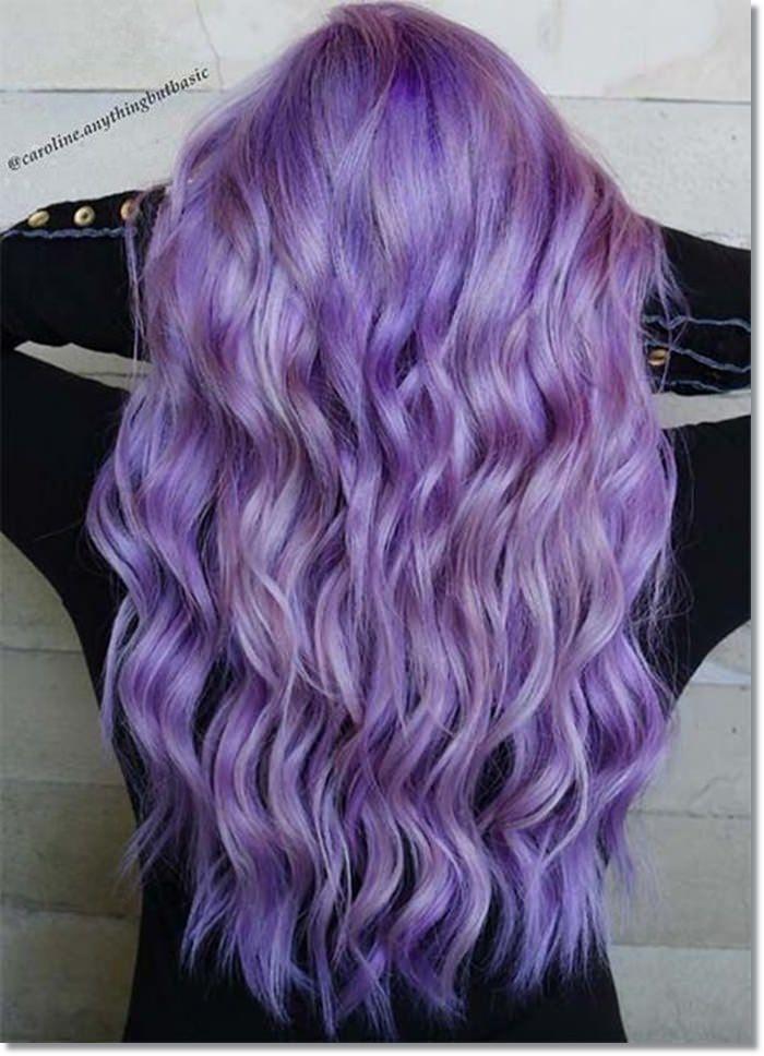 1582543972 450 80 Lavender Hair Your Inner Goddess Will Absolutely Love