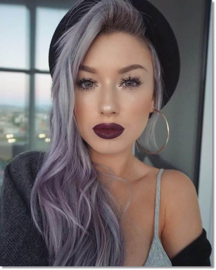 1582543972 607 80 Lavender Hair Your Inner Goddess Will Absolutely Love