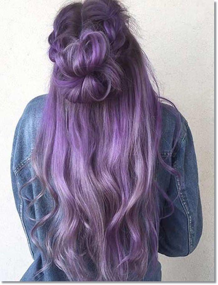 1582543972 995 80 Lavender Hair Your Inner Goddess Will Absolutely Love