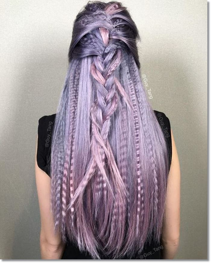 1582543973 768 80 Lavender Hair Your Inner Goddess Will Absolutely Love