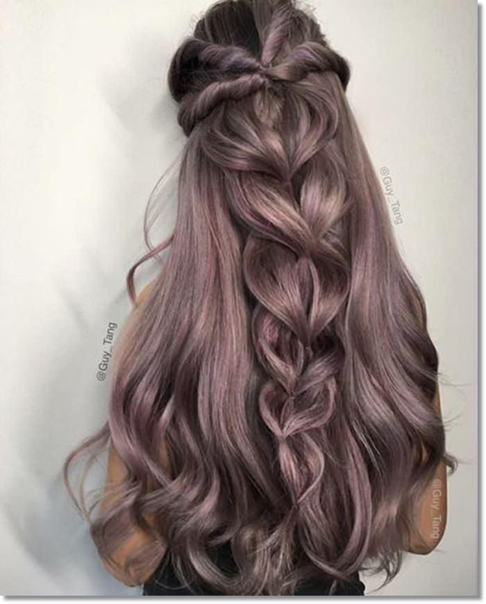 1582543974 255 80 Lavender Hair Your Inner Goddess Will Absolutely Love