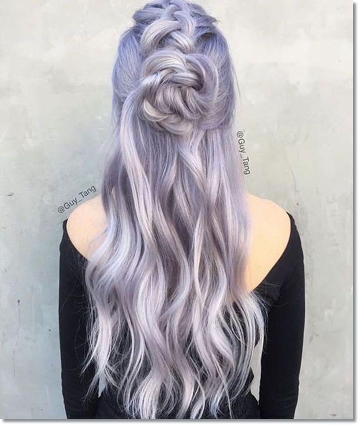1582543974 958 80 Lavender Hair Your Inner Goddess Will Absolutely Love