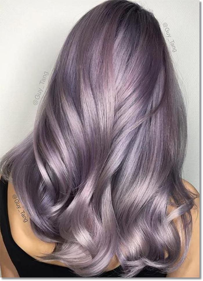 1582543975 596 80 Lavender Hair Your Inner Goddess Will Absolutely Love