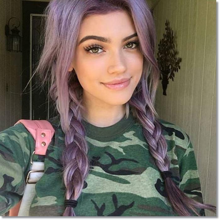 1582543976 15 80 Lavender Hair Your Inner Goddess Will Absolutely Love
