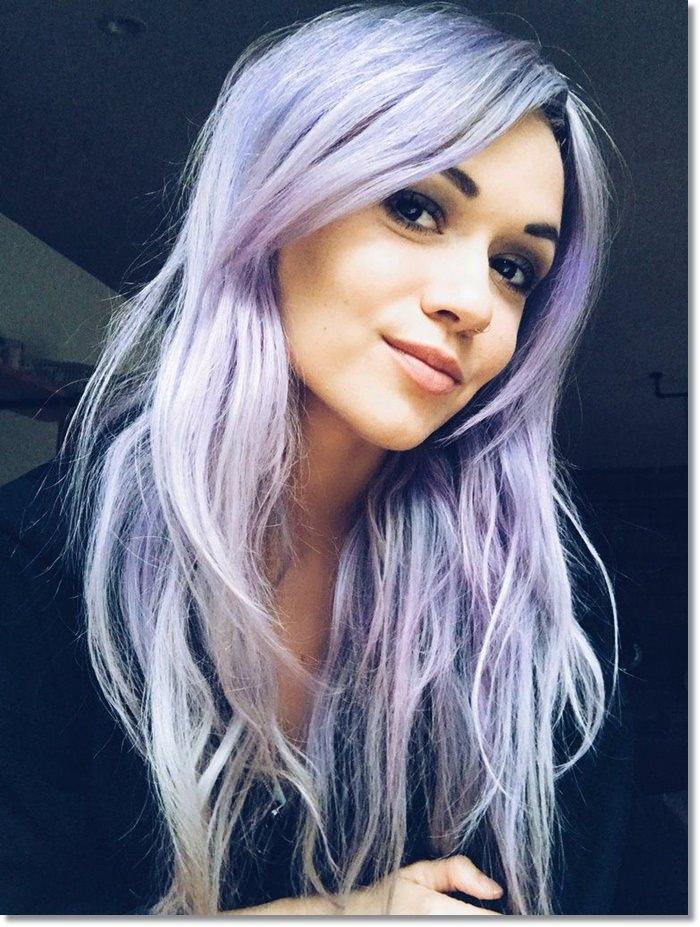 1582543977 284 80 Lavender Hair Your Inner Goddess Will Absolutely Love
