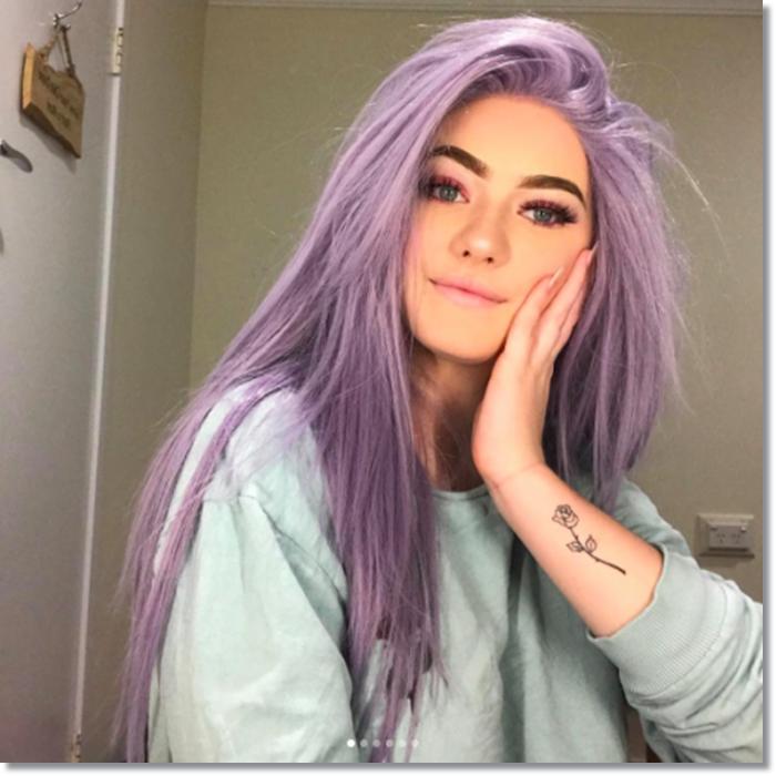 1582543977 701 80 Lavender Hair Your Inner Goddess Will Absolutely Love