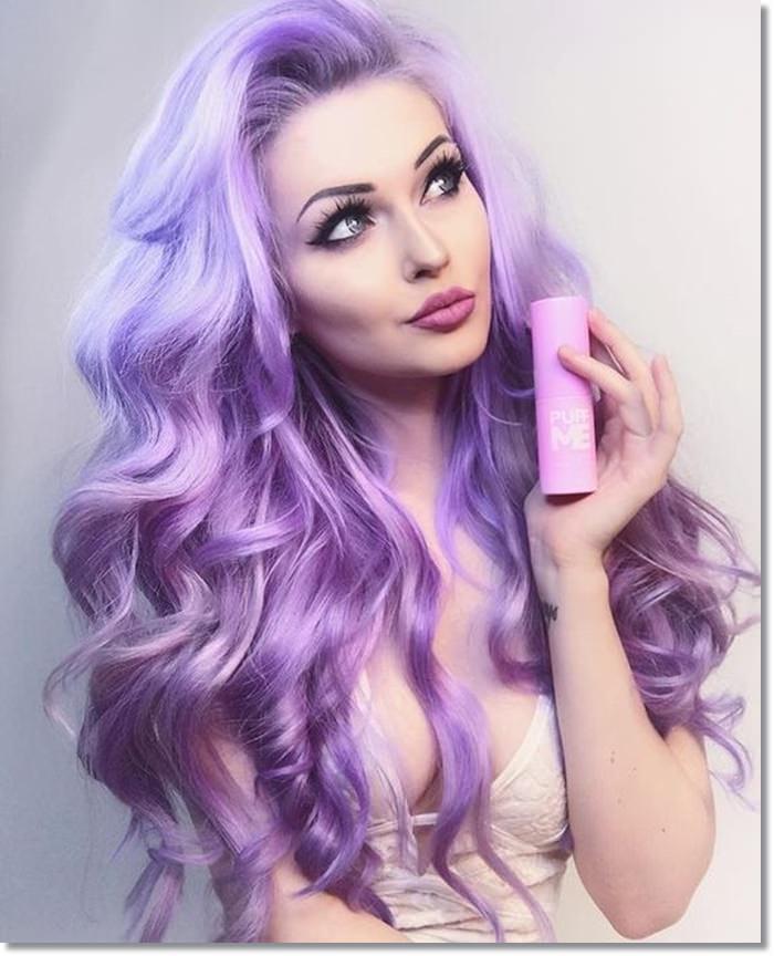 1582543978 440 80 Lavender Hair Your Inner Goddess Will Absolutely Love