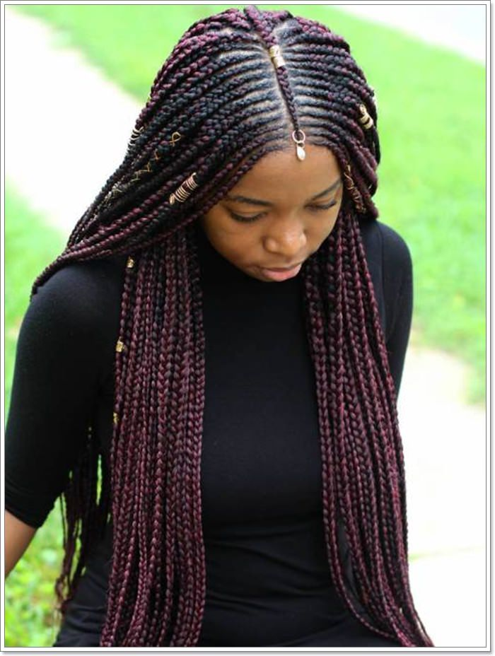 1582544119 345 101 Chic and Trendy Tribal Braids for Your Inner Goddess