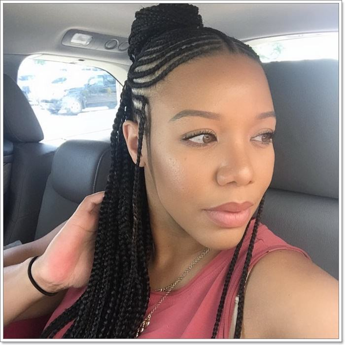 1582544120 426 101 Chic and Trendy Tribal Braids for Your Inner Goddess