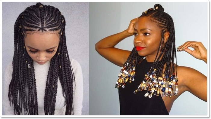 1582544120 799 101 Chic and Trendy Tribal Braids for Your Inner Goddess
