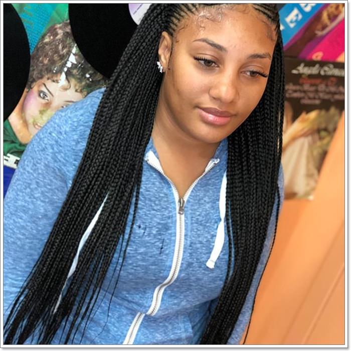 1582544121 131 101 Chic and Trendy Tribal Braids for Your Inner Goddess