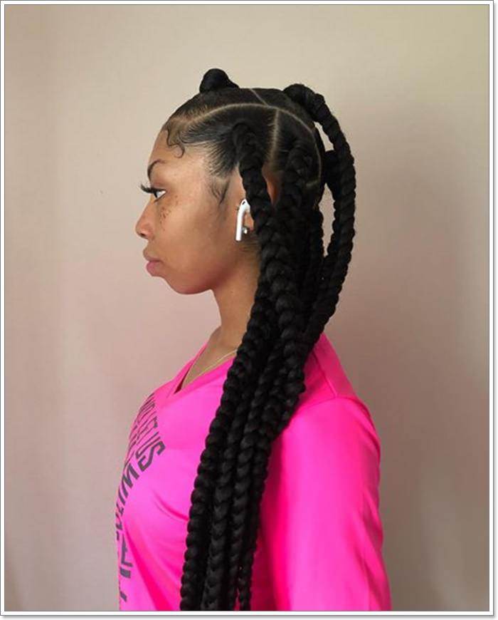 1582544121 286 101 Chic and Trendy Tribal Braids for Your Inner Goddess