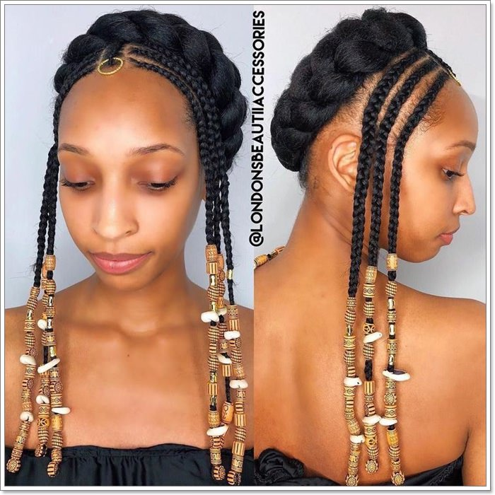 1582544122 229 101 Chic and Trendy Tribal Braids for Your Inner Goddess