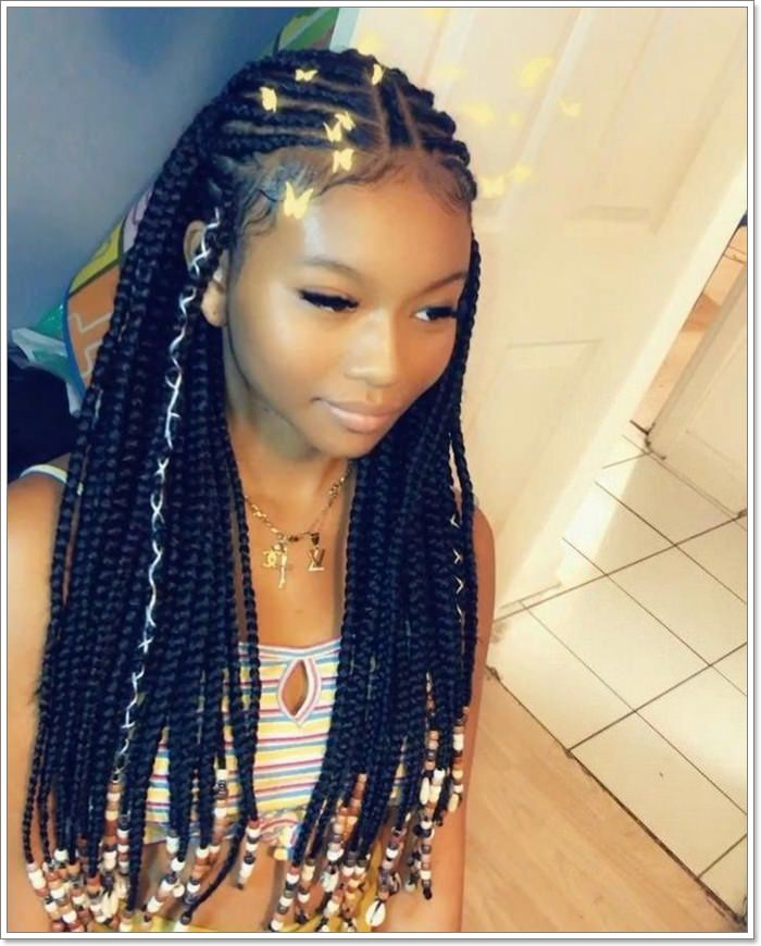 1582544123 674 101 Chic and Trendy Tribal Braids for Your Inner Goddess