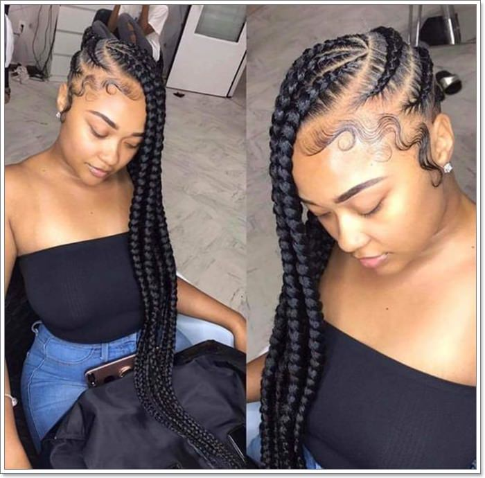 1582544124 439 101 Chic and Trendy Tribal Braids for Your Inner Goddess