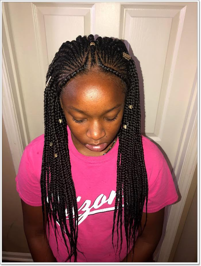 1582544124 711 101 Chic and Trendy Tribal Braids for Your Inner Goddess