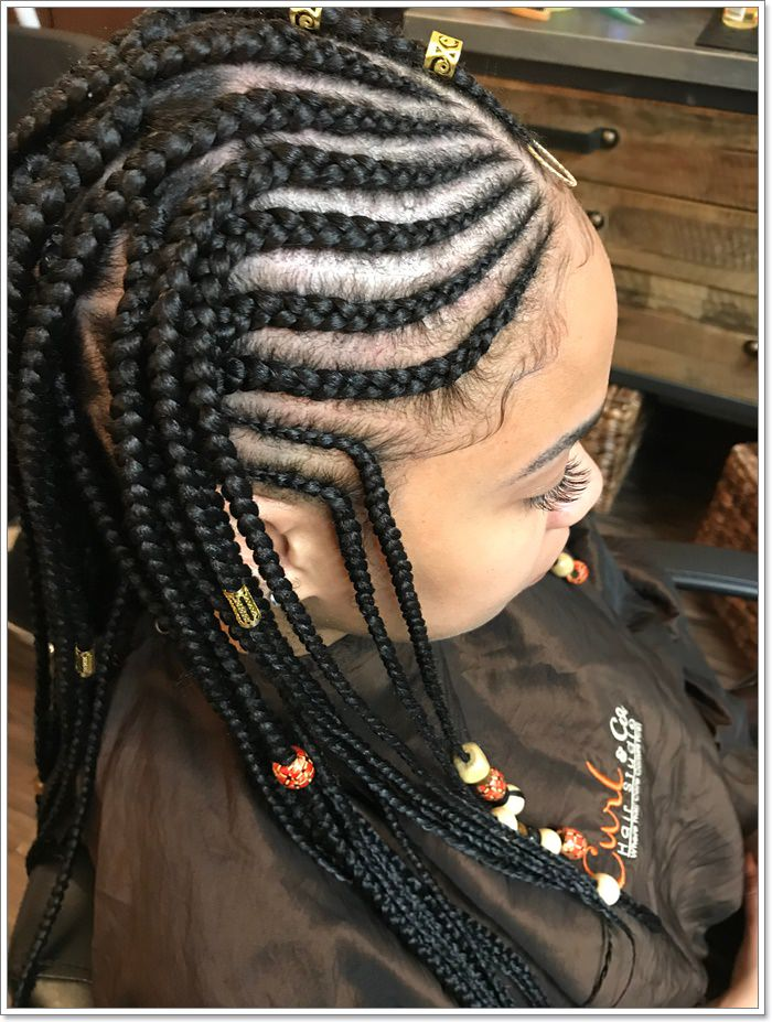 1582544124 959 101 Chic and Trendy Tribal Braids for Your Inner Goddess
