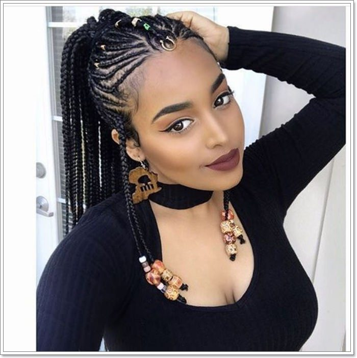 1582544126 45 101 Chic and Trendy Tribal Braids for Your Inner Goddess