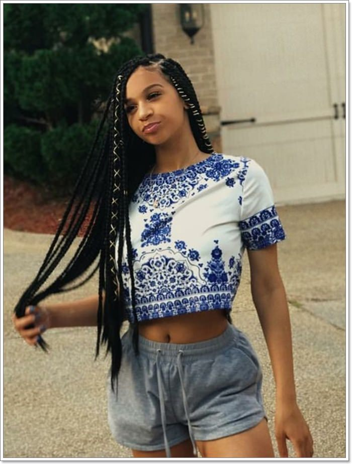 1582544126 472 101 Chic and Trendy Tribal Braids for Your Inner Goddess