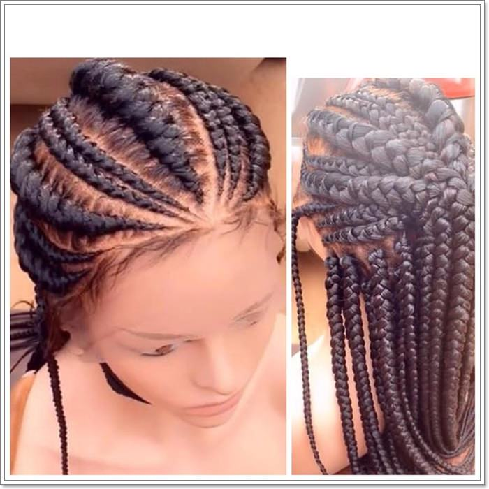 1582544126 78 101 Chic and Trendy Tribal Braids for Your Inner Goddess