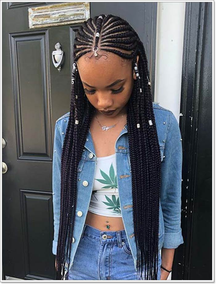 1582544127 19 101 Chic and Trendy Tribal Braids for Your Inner Goddess