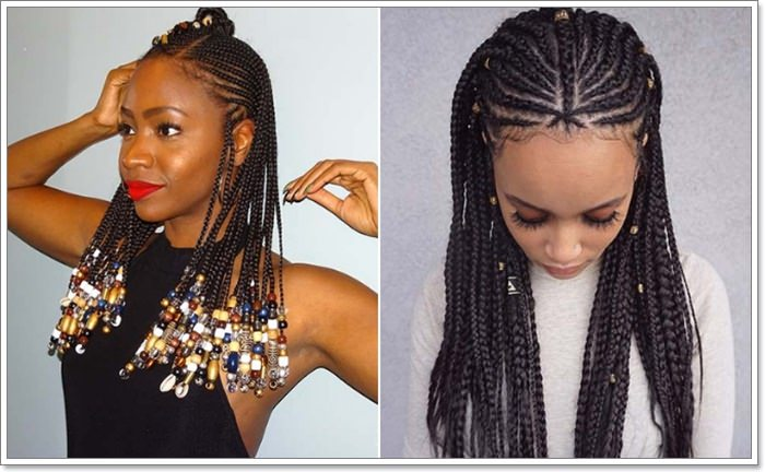 1582544129 853 101 Chic and Trendy Tribal Braids for Your Inner Goddess
