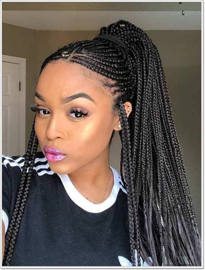 1582544130 610 101 Chic and Trendy Tribal Braids for Your Inner Goddess