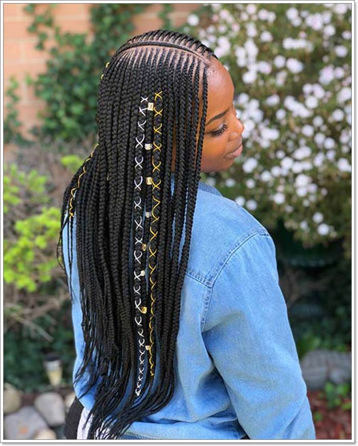 1582544130 646 101 Chic and Trendy Tribal Braids for Your Inner Goddess