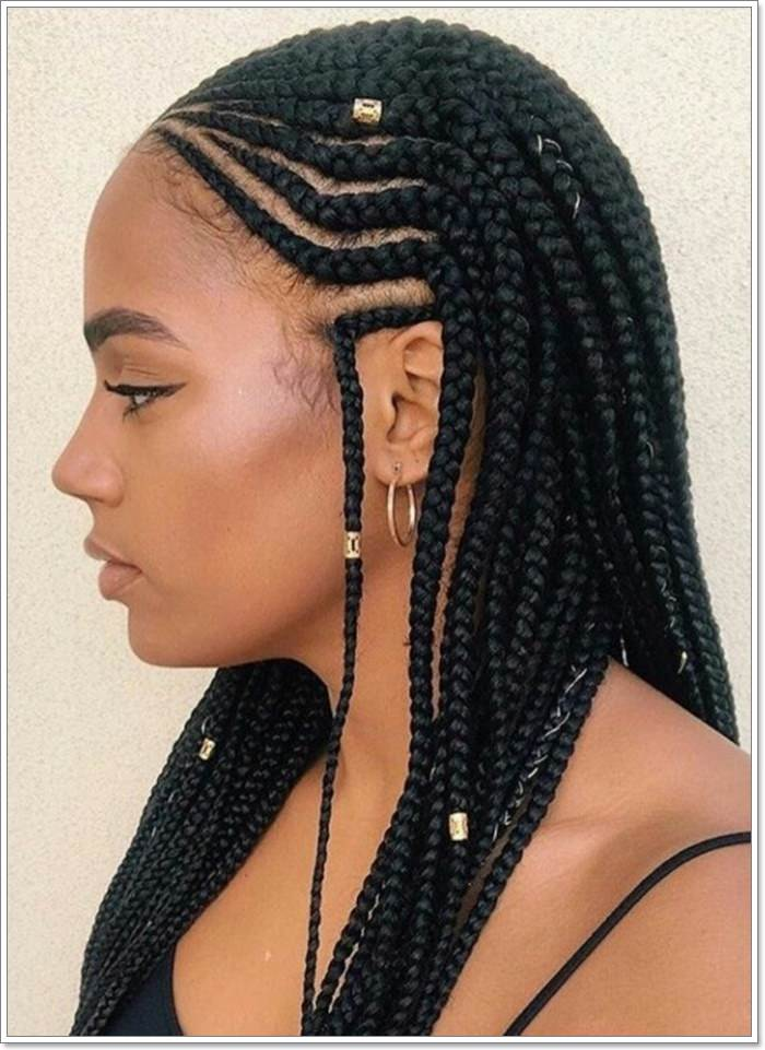 1582544131 781 101 Chic and Trendy Tribal Braids for Your Inner Goddess