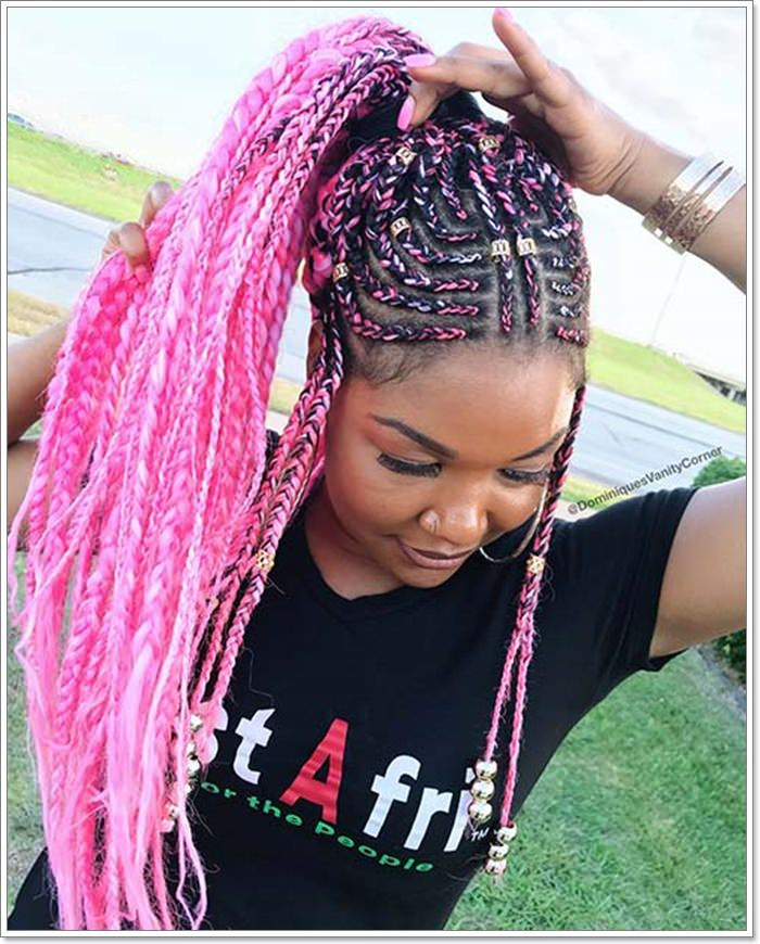 1582544132 762 101 Chic and Trendy Tribal Braids for Your Inner Goddess