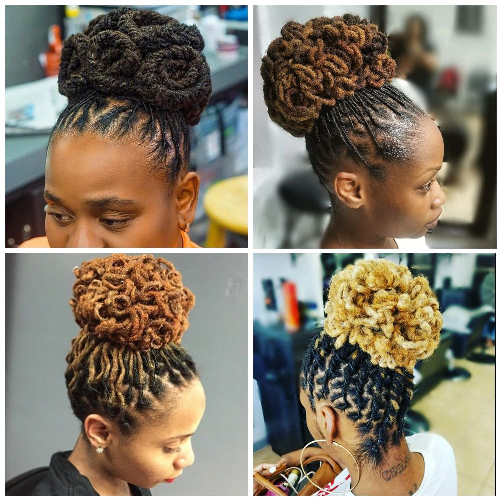 Updo Hairstyles for Black Ladies