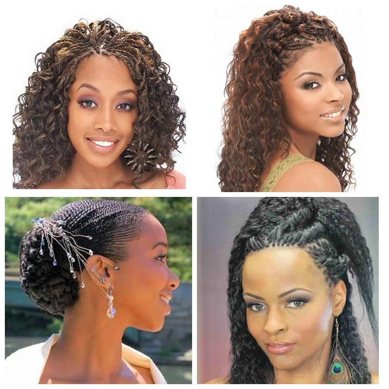 Micro Braids for Black Wedding
