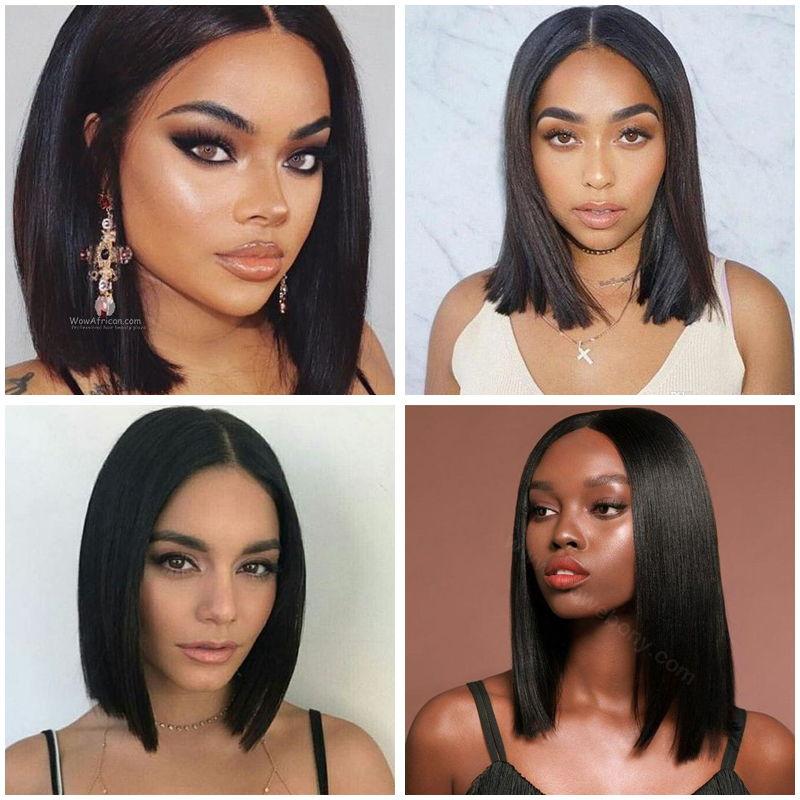 Trendy Short hairstyles for dark Women