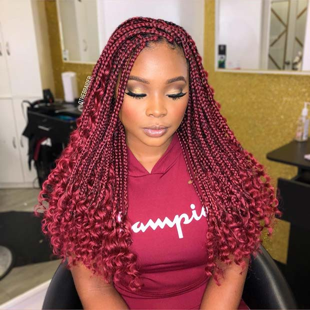 1582616731 246 25 Gorgeous Braids with Curls That Turn Heads