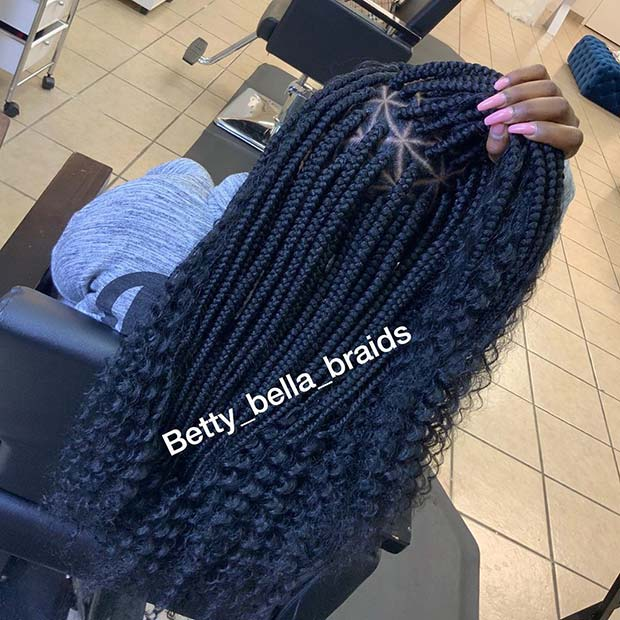 1582616731 698 25 Gorgeous Braids with Curls That Turn Heads