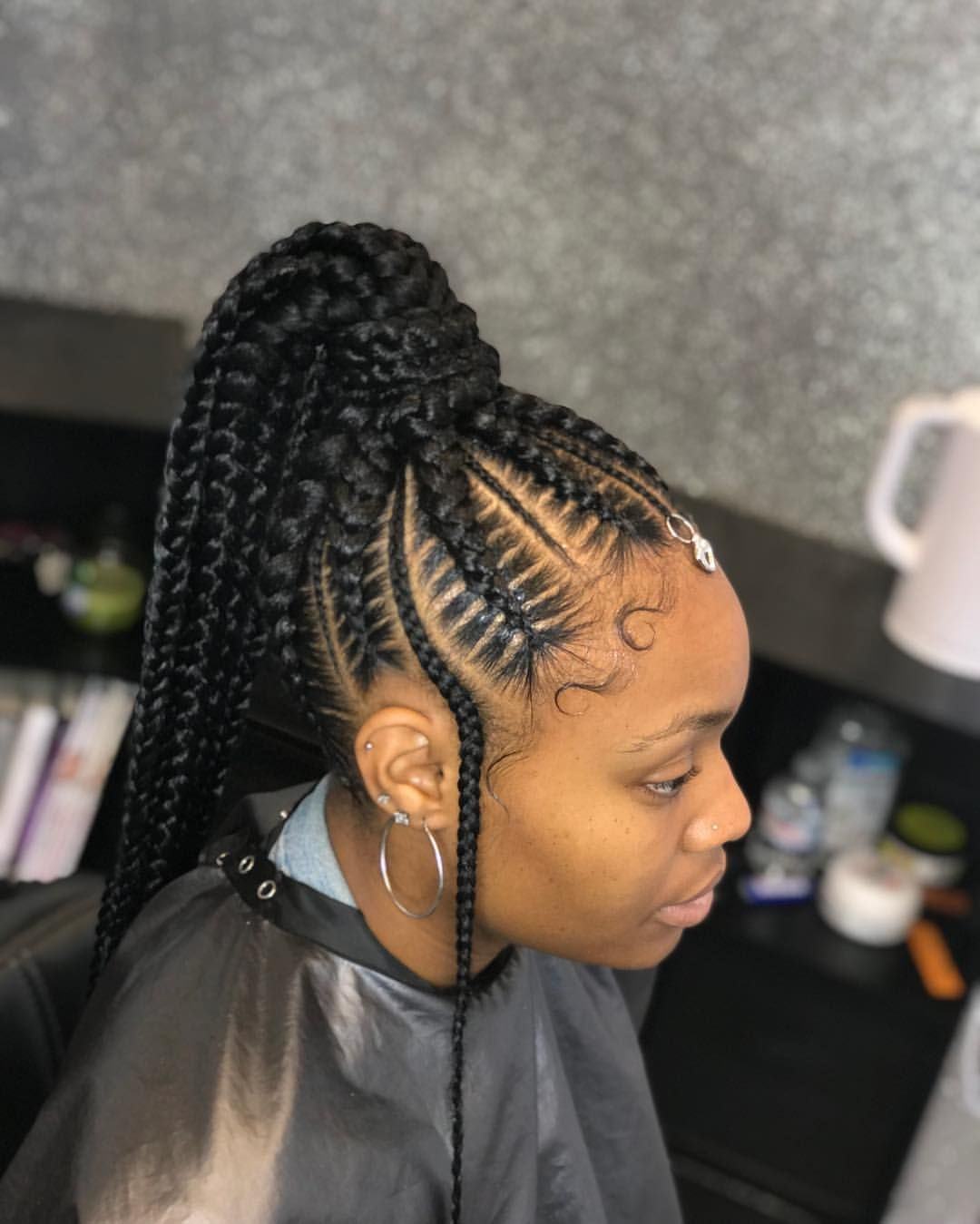 1582617314 599 22 Most Coolest and Fabulous Feed in Braids